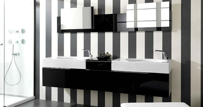 Quelques Astuces Deco Pour Une Salle De Bains En Noir Et Blanc Plans Pluriel