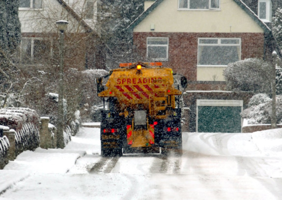 Gritters Have Trackers