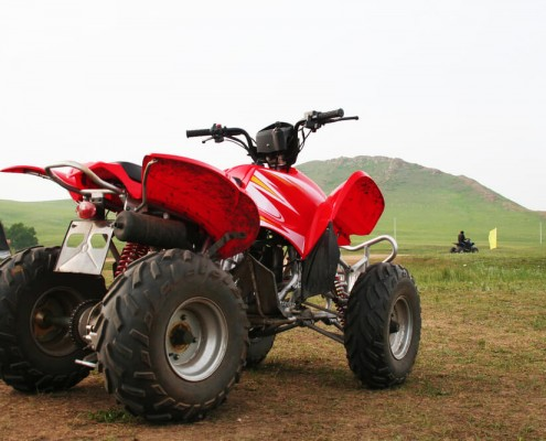 Stolen Quad bike recovered