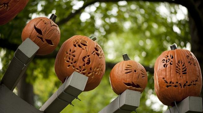 Tu jardín en un cementerio para Halloween