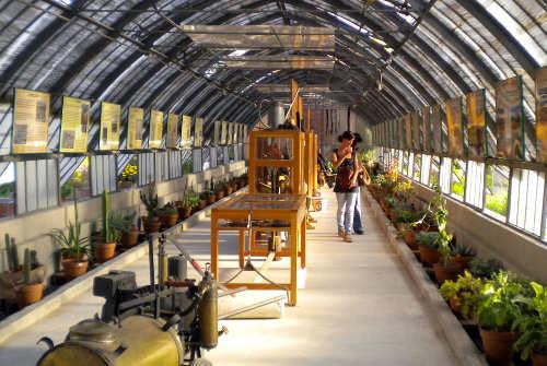 El museo de la jardinería
