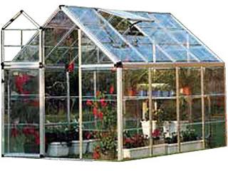 Diferentes invernaderos para tu jardín