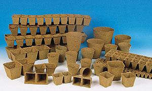 Macetas biodegradables