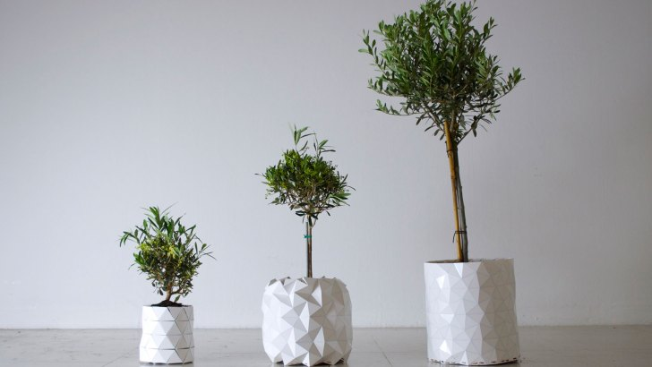 Growth, el macetero que crece a la vez que nuestras plantas