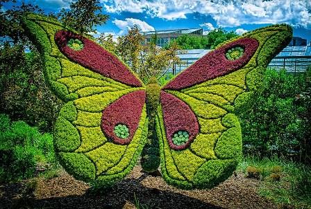 Arte Topiario o esculturas vegetales