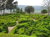 Los jardines colgantes del castillo de Marqueyssa