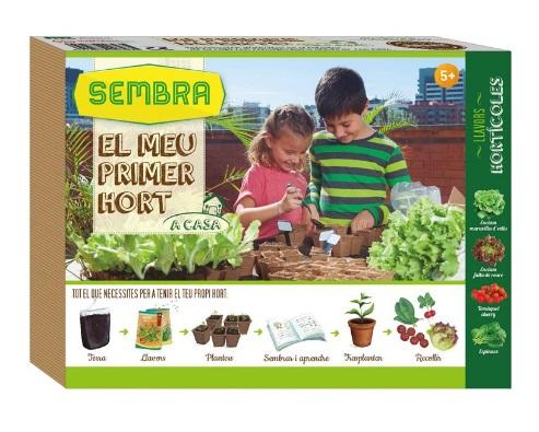 Kit de cultivo para niños