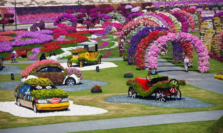 Dubai Miracle Garden: el jardín más grande del Mundo