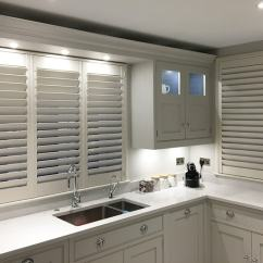Kitchen Window Shutters Stainless Steel Cabinets Ikea Interior Plantation By Ltd London