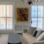 Square Bay Shutters In Chelsea Plantation Shutters