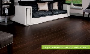 Plantation Bamboo Flooring Products New Zealand - Compressed bamboo flooring shown in antique bronze colour-way