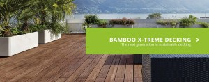 Image of Bamboo Decking with a view of the ocean