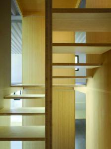 bamboo ply panels - bamboo stairs
