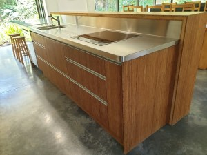 bamboo ply panels - kitchen bamboo joinery