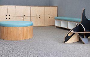 bamboo furniture - ottoman