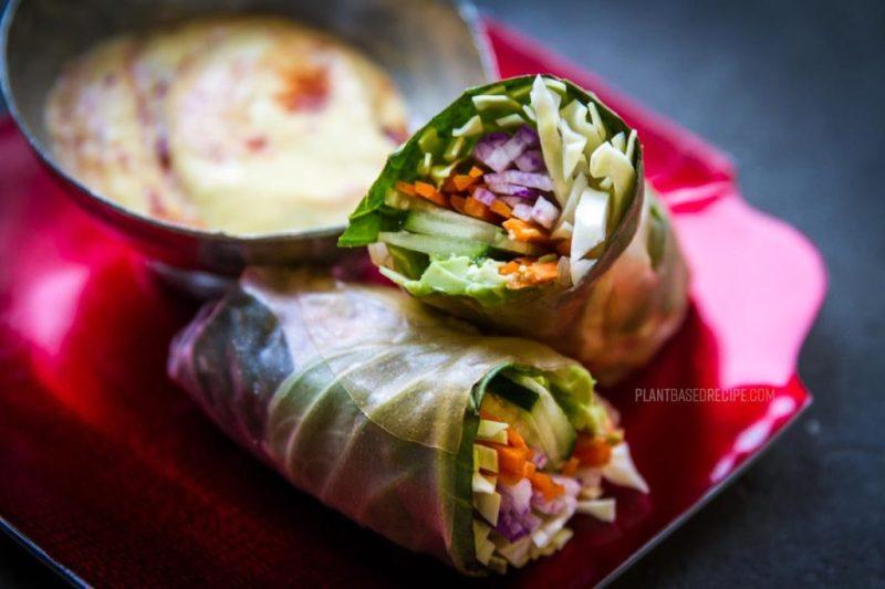California rice wrap -vegan rice roll