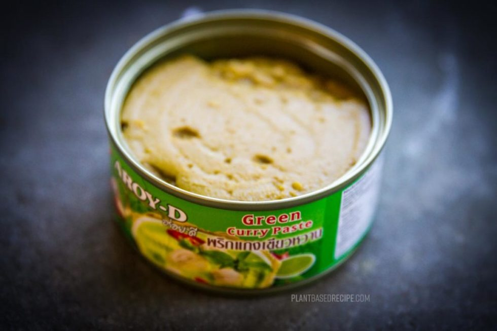 Thai Green Curry Paste in a can