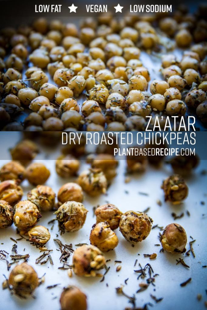 Za'atar dry roasted chickpeas