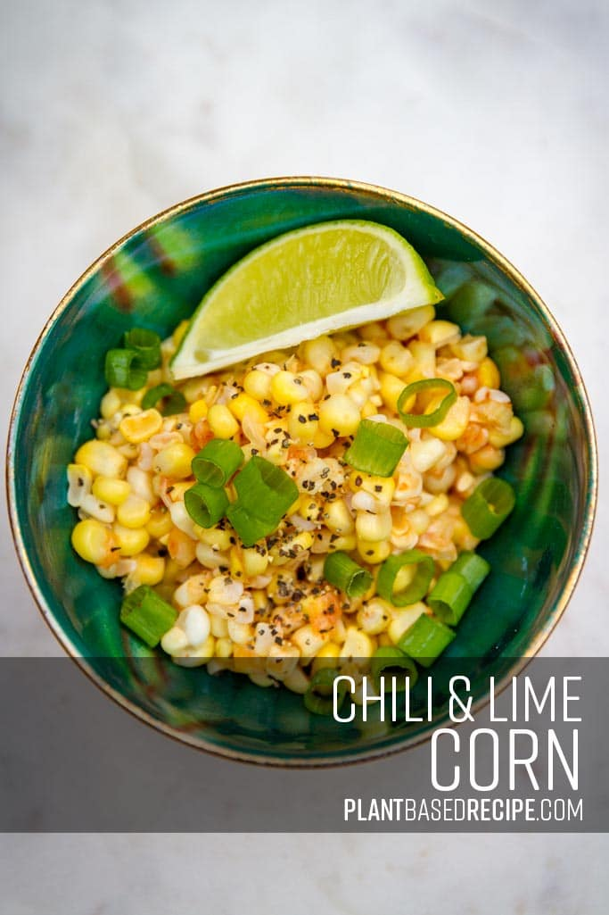 Chili and Lime corn on the cob recipe