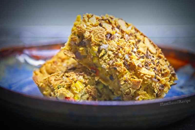 Crispy vegetable corn bake