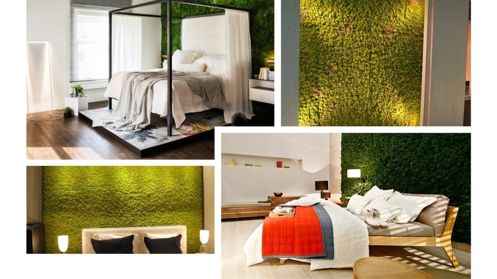 moswand slaapkamer - inspiratie voor een moswand in je slaapkamer thuis
