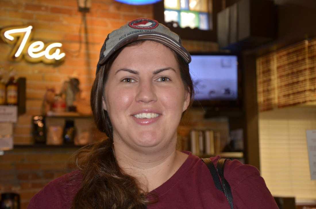 """Reese's."" — Stephanie Speight, 30"