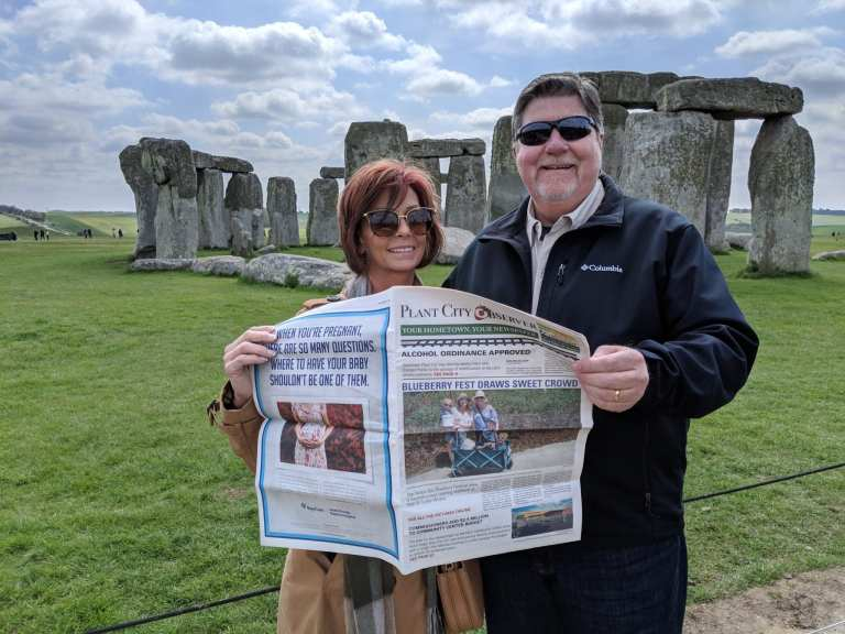 Mike and Diane Griffin - Stonehenge