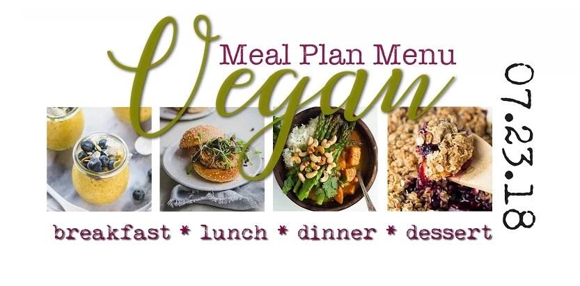 Vegan meal plan menu plant based recipes 72318 planted365 forumfinder Gallery