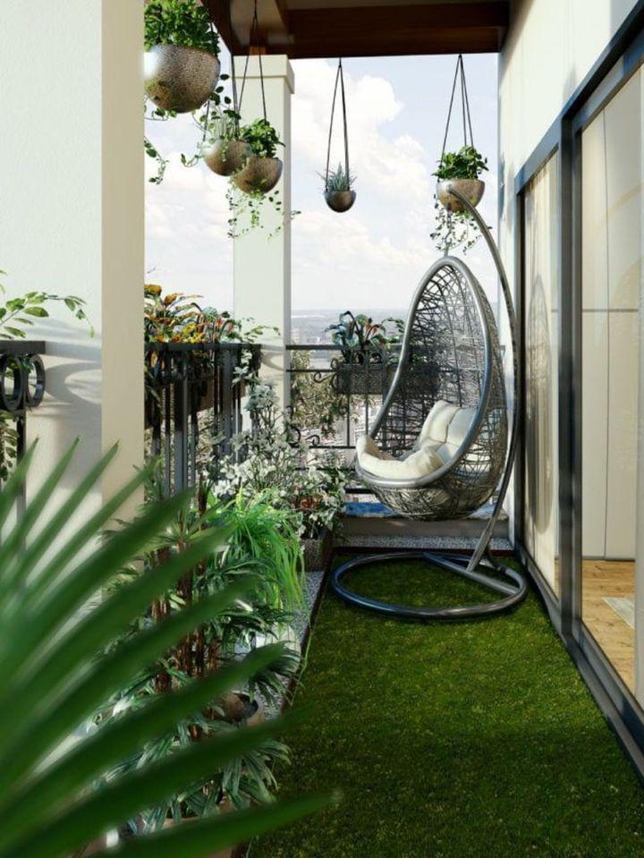 balcony garden ideas with a diy balcony