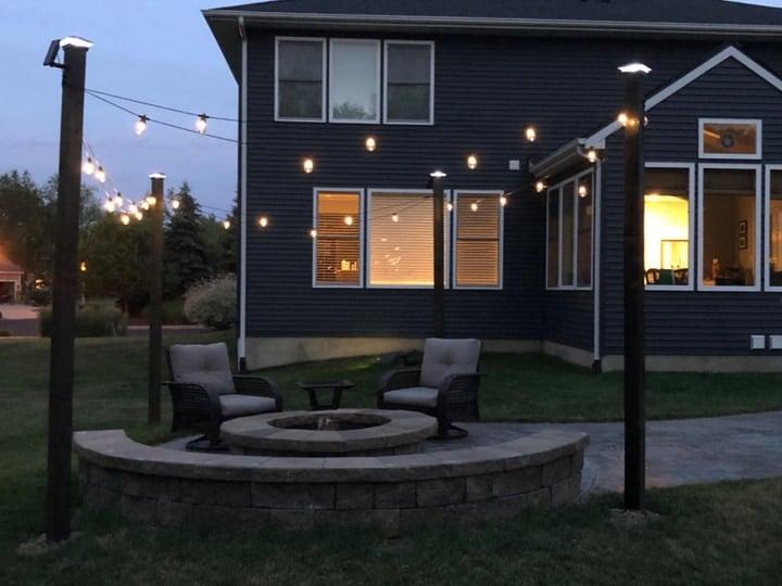 13 best outside garden lights to led up