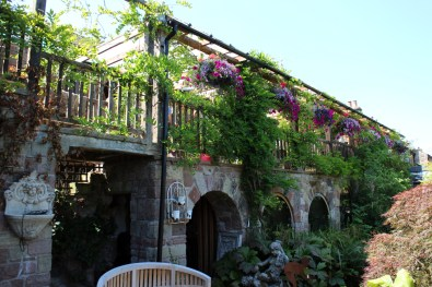 No visit to Larch Cottage is complete without lunch in The Greenhouse Restaurant