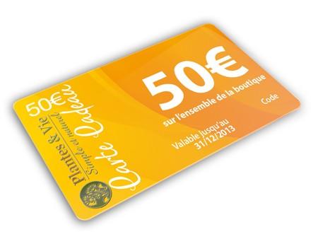 Bon Cadeau Plantes&Vie 50€
