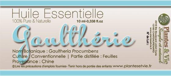 Huile Essentielle de Gaulthérie