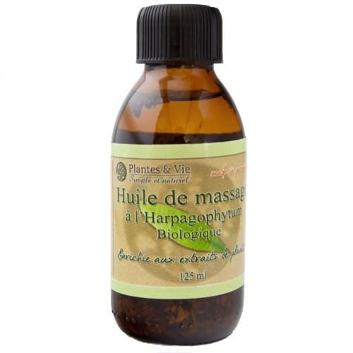Huile de massages à l'Harpagophytum