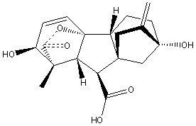 Natural Plant Hormones Gibberellins, Gibberellic Acid GA3