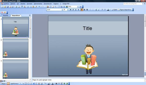 Ventas de inmuebles Plantilla PowerPoint  Plantillas