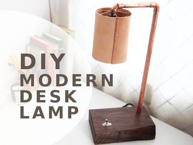 Led Desk Lamp Diy