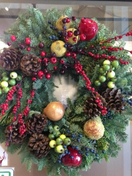 Fresh Pine Christmas Wreath