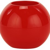 red ball planter