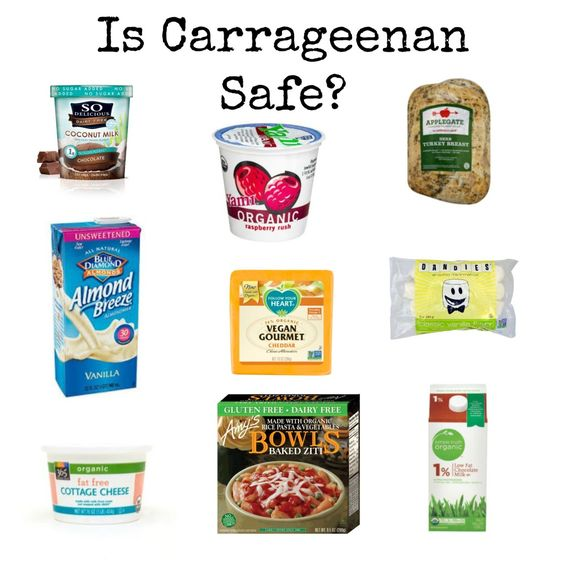 Carrageenan cancer