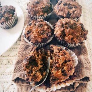 Chocolate Chip Muffins (Vegan & Gluten Free)