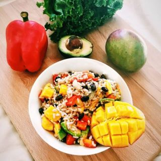 Avocado Mango Rice Bowl