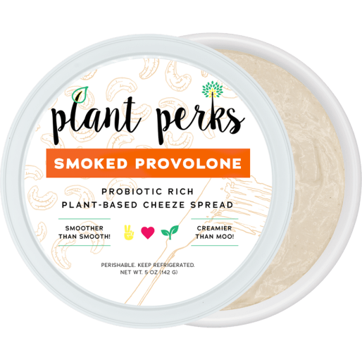 Smoked Provolone Vegan Nut Cheeze Cutout