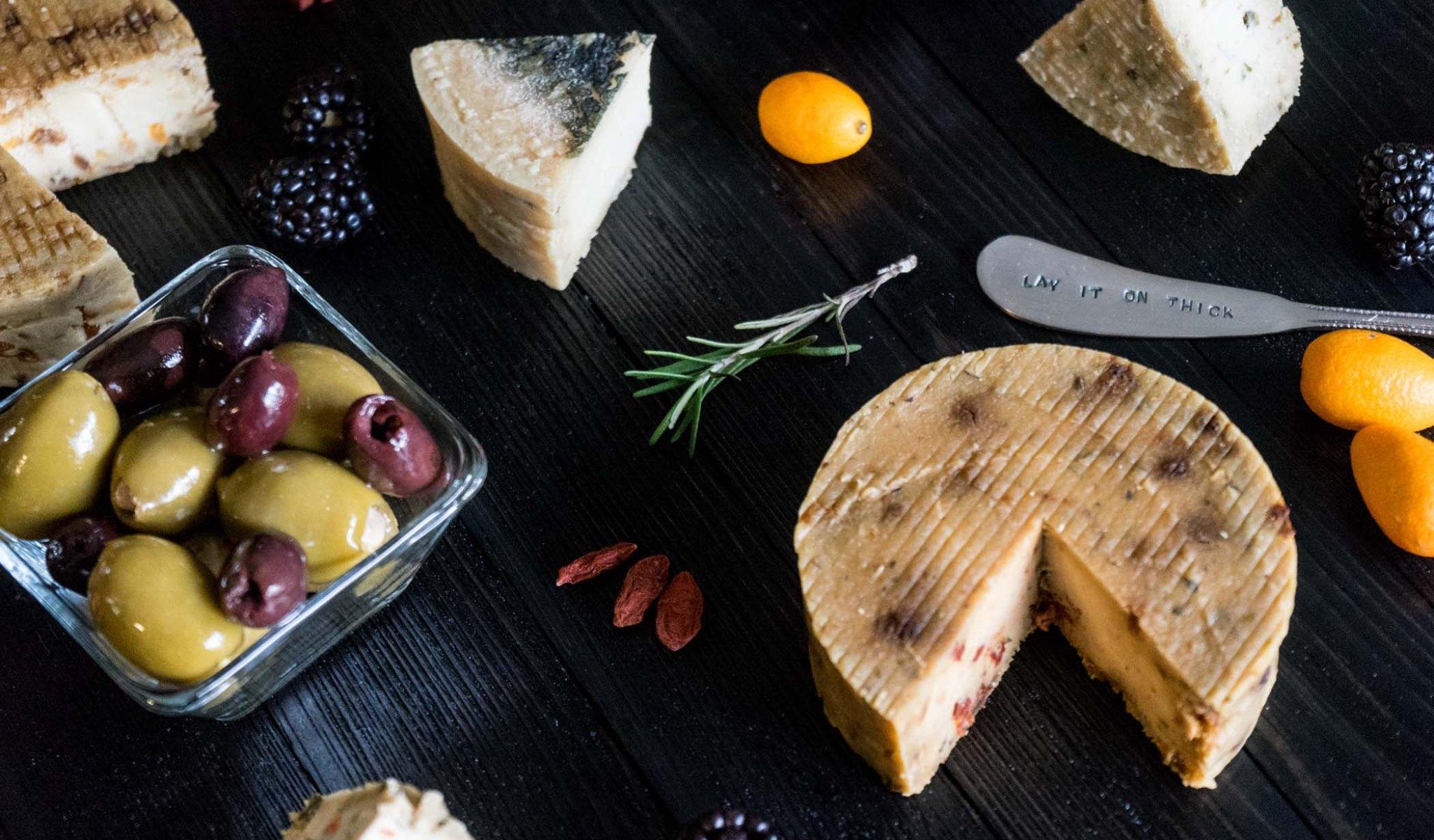 Vegan Nut Cheese Array