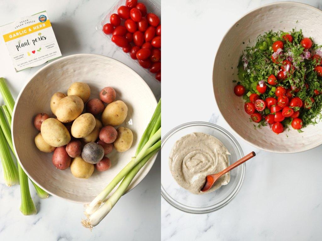 perfect summer potato salad