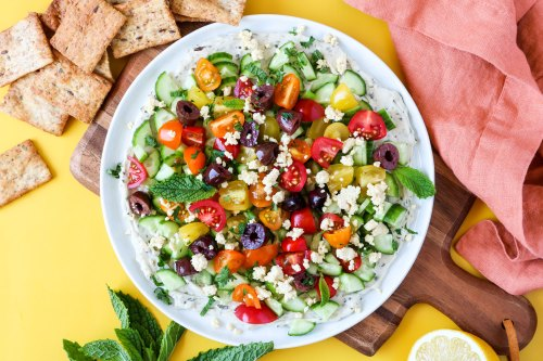 Veggie & Herb Mediterranean Dip