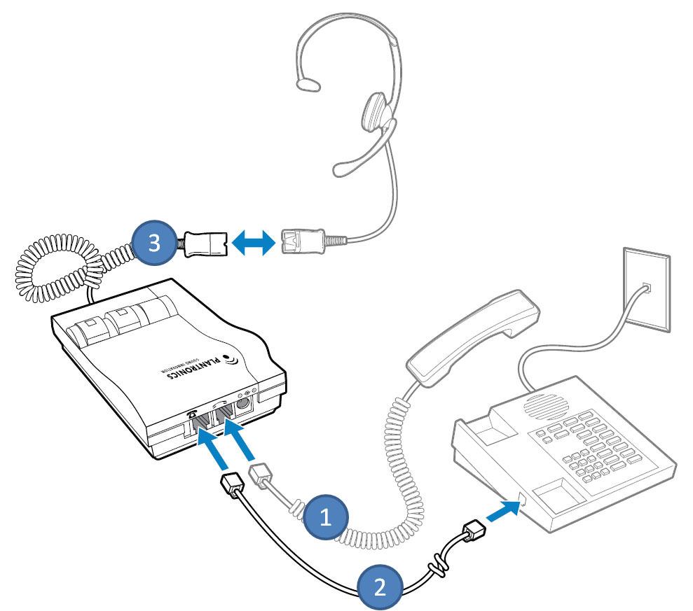 M22 Vista adapter do telefonu stacjonarnego i