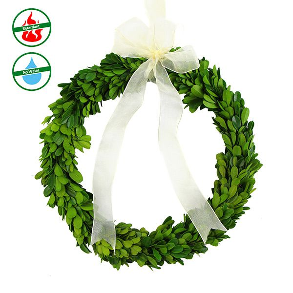 preserved boxwood garland wholesale