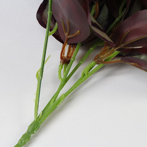 artificial purple leaves for DIY