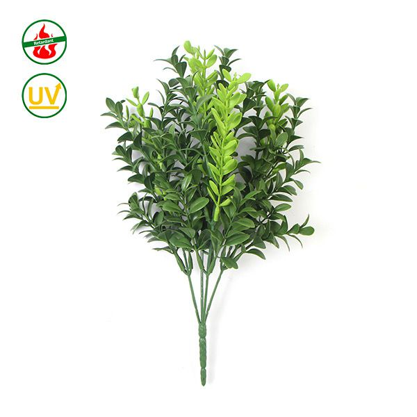 artificial bushes boxwood uv protected